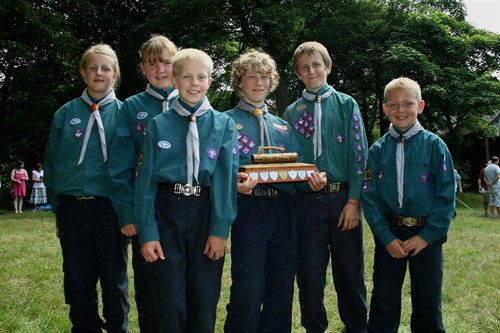 Scout Camping Comp Winners